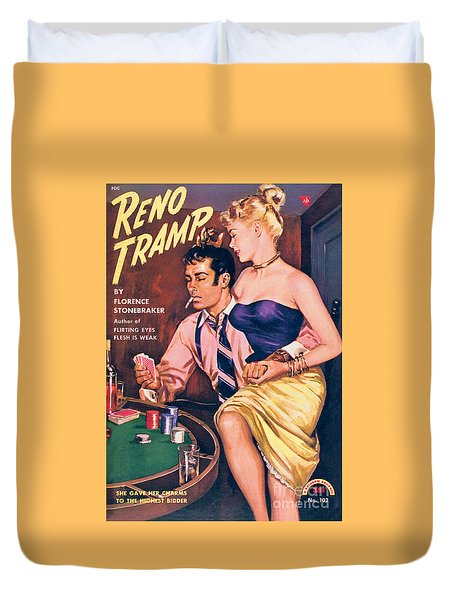 Reno Tramp Duvet Cover by George Gross