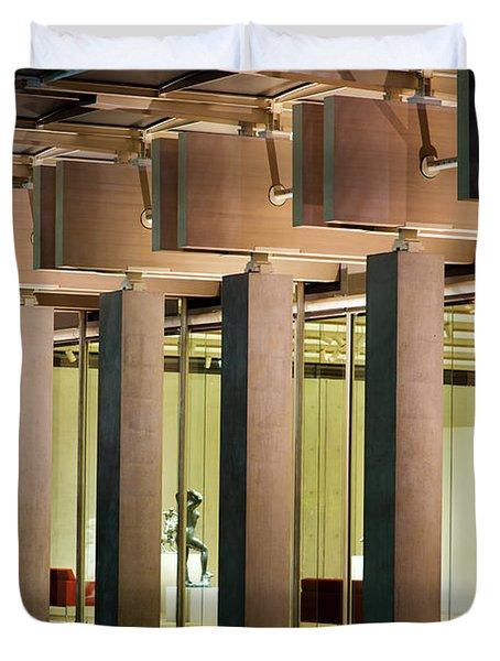 Renzo Piano Building Kimball Museum Duvet Cover