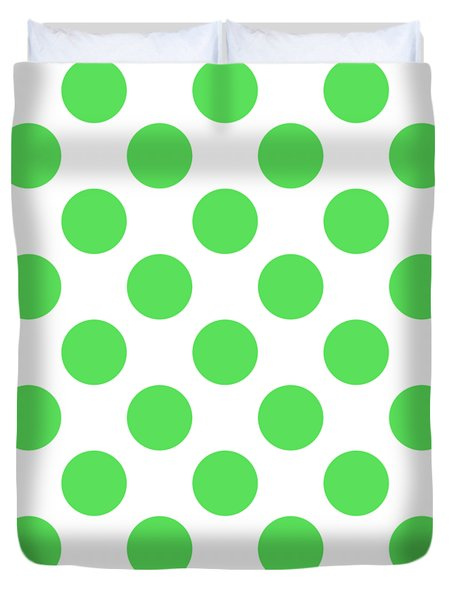 Repeating Circle Pattern - Custom Colors Duvet Cover