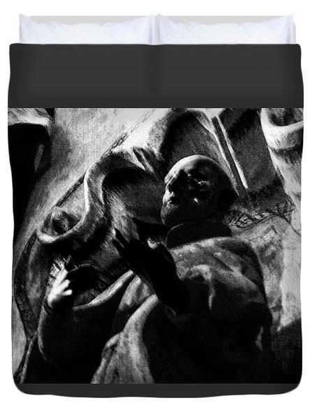 Repent Duvet Cover