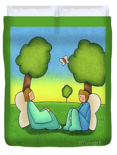 Repose Duvet Cover by Sarah Batalka