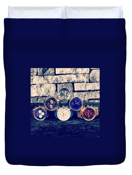 Watches Collection Duvet Cover