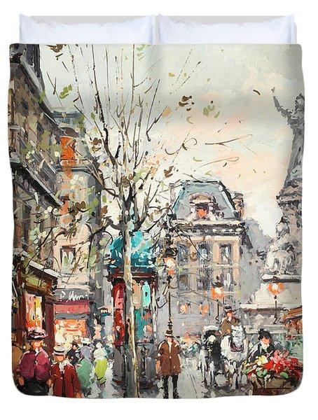 Republic Square Duvet Cover