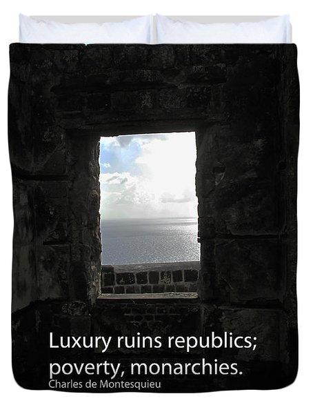 Republics And Monarchies Duvet Cover by Ian  MacDonald