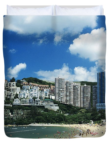Repulse Bay Duvet Cover by Gloria and Richard Maschmeyer - Printscapes