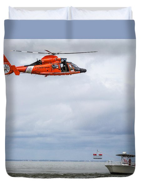 Rescue Basket Lowered Duvet Cover