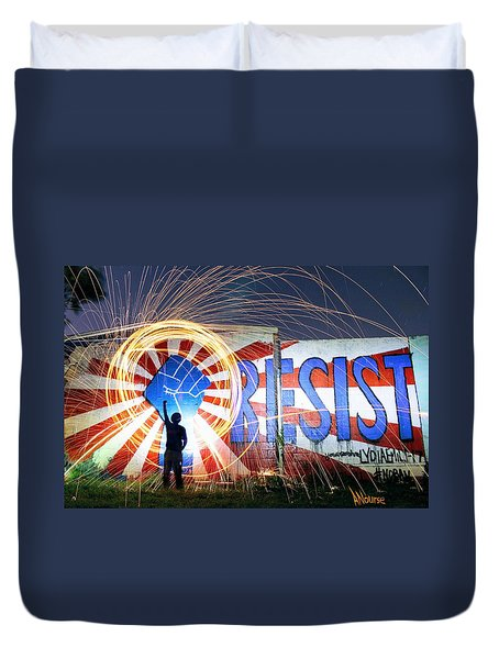 Resist Duvet Cover