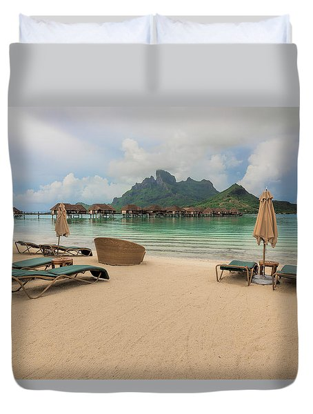 Resort Life Duvet Cover