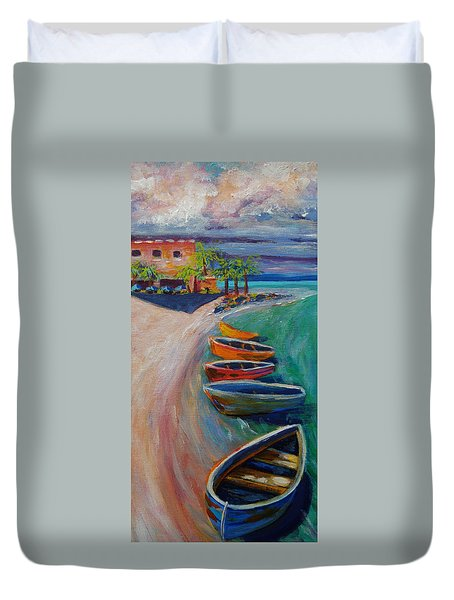 Resort Time Duvet Cover