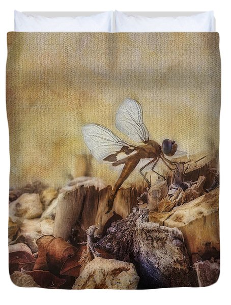 Respite Of The Mosquito Hawk Duvet Cover