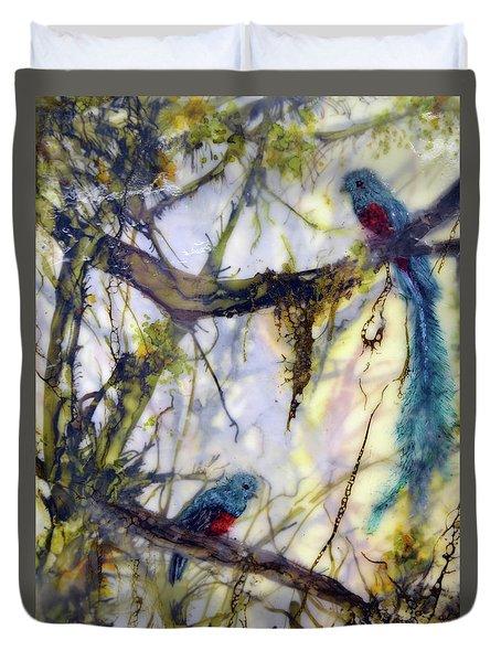 Resplendent Quetzal #2 Duvet Cover