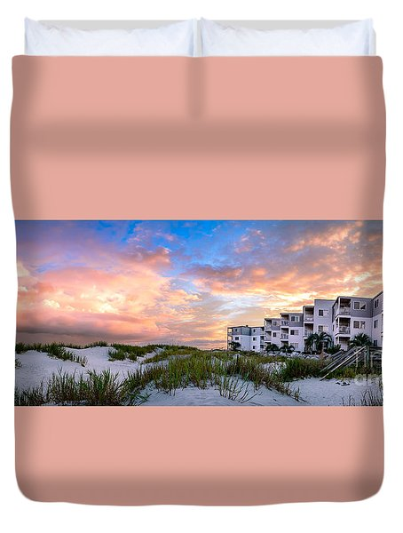 Rest And Relaxation Duvet Cover by David Smith