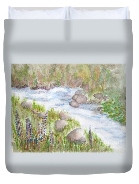 Rest By My Waters Duvet Cover