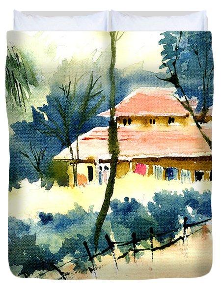 Rest House Duvet Cover by Anil Nene