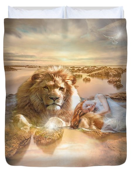 Divine Rest Duvet Cover