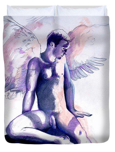 Resting Angel Duvet Cover