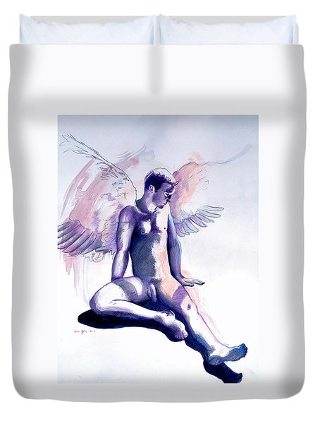 Resting Angel Duvet Cover