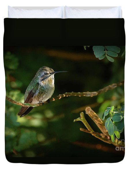 Duvet Cover featuring the photograph Resting Anna by Robert Bales