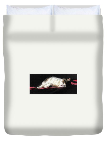 Resting Cat Duvet Cover