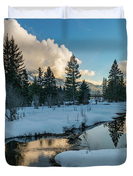 Resting Creek Duvet Cover