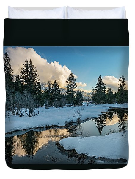Resting Creek Duvet Cover