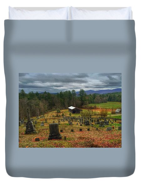 Resting In Peace Duvet Cover