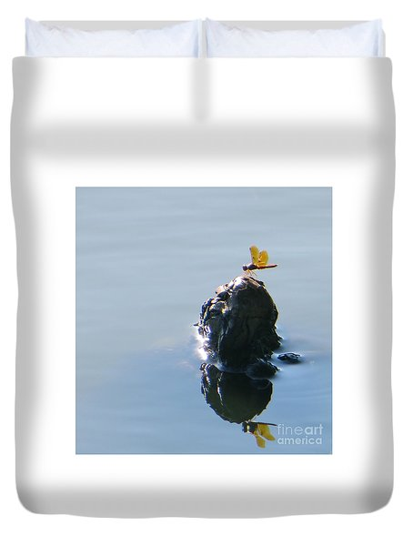 Resting Reflections Duvet Cover