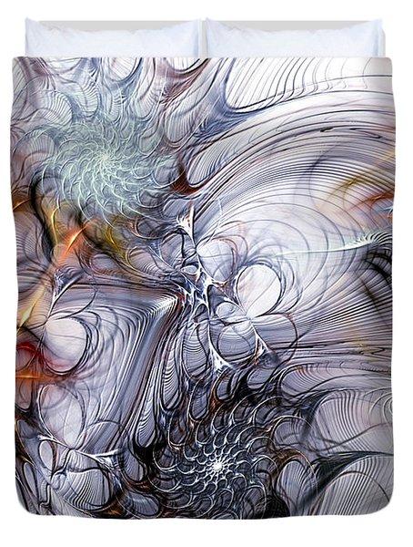 Restive Duvet Cover by Casey Kotas