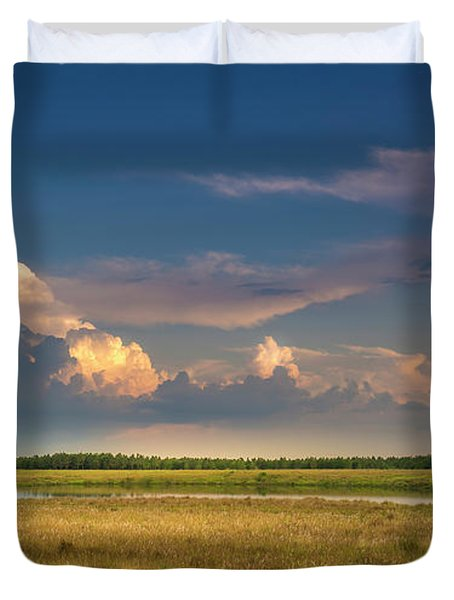 Restless Land Duvet Cover