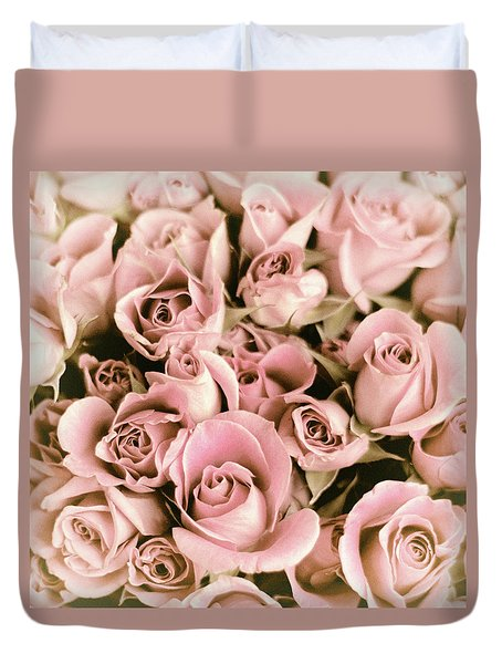 Reticent Rose Duvet Cover by Jessica Jenney