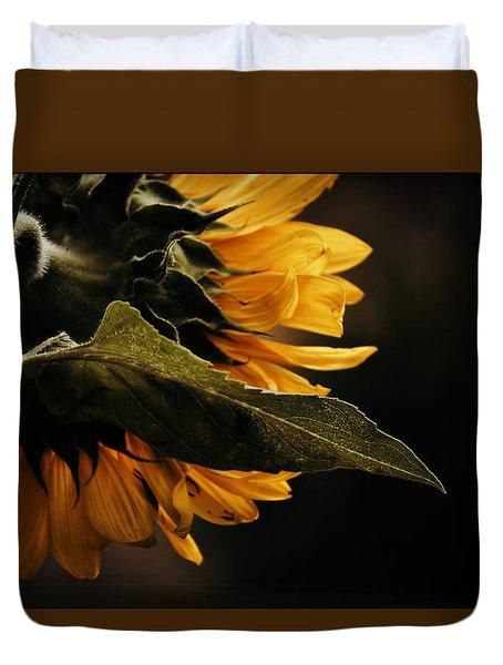 Reticent Sunflower Duvet Cover
