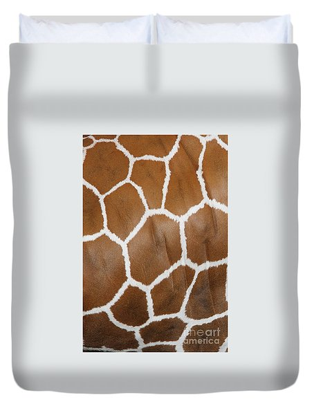 Reticulated Giraffe #2 Duvet Cover
