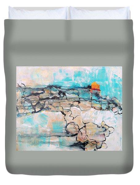 Retreat Duvet Cover by Mary Schiros