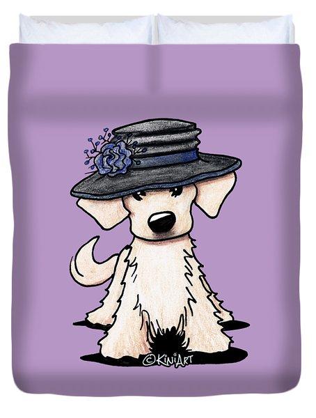 Retriever Puppy Duvet Cover