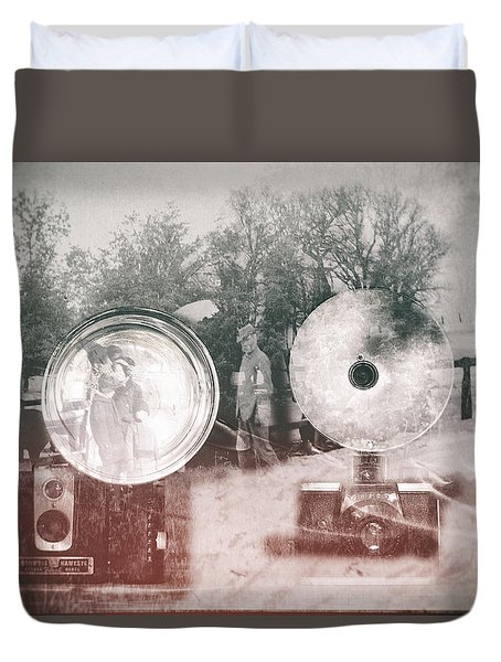 Retro Farmer Duvet Cover