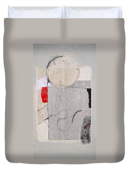 Duvet Cover featuring the painting Retro Feel by Cliff Spohn
