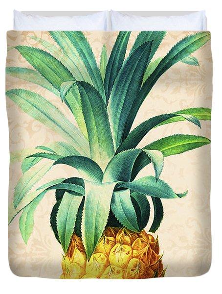 Retro Pineapple Duvet Cover