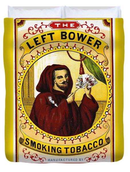 Retro Tobacco Label 1869 C Duvet Cover