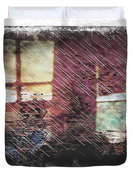 Retrospection Duvet Cover