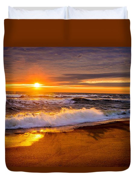 Return Engagement  Duvet Cover by John Harding