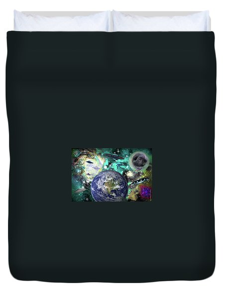 Return Of The Elders 3 Duvet Cover