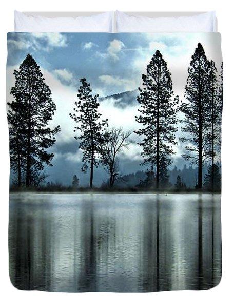 Return To Heron Pond Duvet Cover