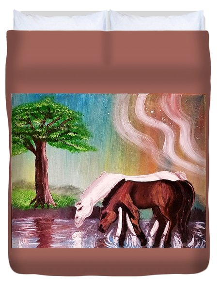 Return To Innocence  Duvet Cover