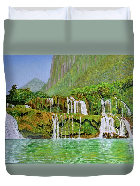 Returned To Paradise Duvet Cover