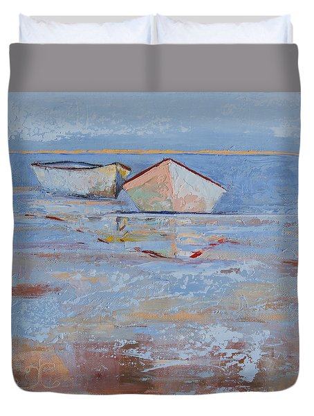 Returning Tides Duvet Cover