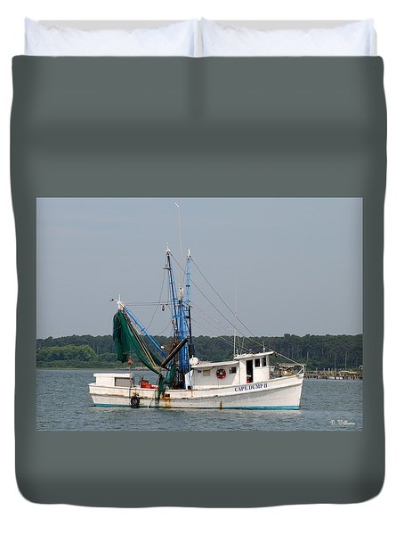 Returning To Harbor Duvet Cover