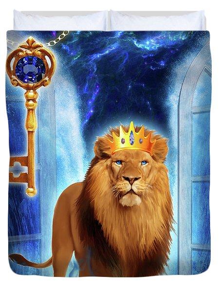 Revelation Gate Duvet Cover