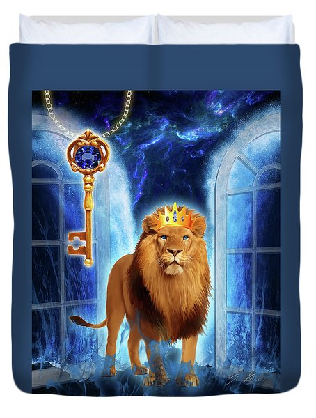 Revelation Gate Duvet Cover