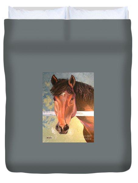 Reverie - Quarter Horse Duvet Cover
