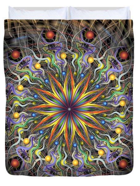 Reverse Cosmosis Duvet Cover